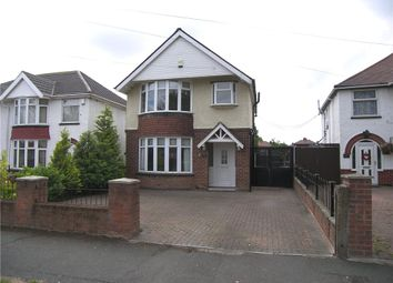 Thumbnail 3 bed detached house for sale in Wordsworth Avenue, Sinfin, Derby