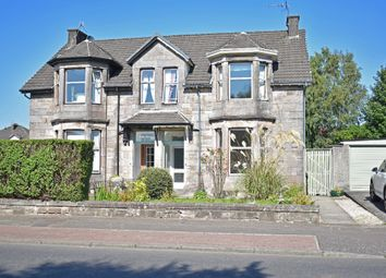 Thumbnail 3 bed semi-detached house for sale in Glasgow Road, Dumbarton, West Dunbartonshire
