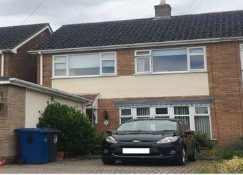 Thumbnail 3 bed property to rent in Noddington Avenue, Lichfield