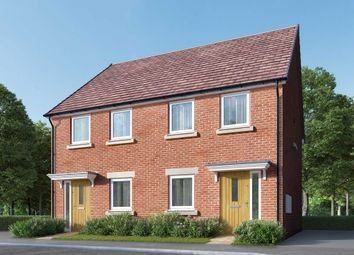 "Thumbnail 2 bedroom semi-detached house for sale in ""The Remstone"" at Bede Ling, West Bridgford, Nottingham"