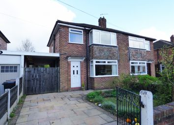 Thumbnail 3 bed semi-detached house for sale in Alderley Close, Hazel Grove, Stockport