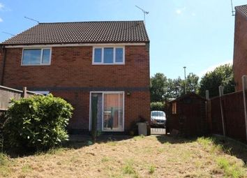 Thumbnail 2 bed semi-detached house for sale in Ryder Road, Kirby Frith, Leicester