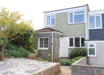 Thumbnail 3 bed end terrace house for sale in Hurrell Close, Southway, Plymouth