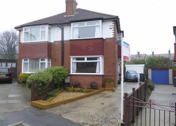 Thumbnail 3 bed semi-detached house for sale in Greenhill Crescent, Wortley, Leeds, West Yorkshire