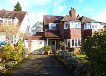 Thumbnail 4 bed semi-detached house for sale in Ravenhurst Road, Harborne, Birmingham
