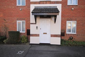 Thumbnail 2 bed flat to rent in Orchard Court, Trowbridge, Wiltshire