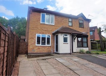 Thumbnail 2 bed semi-detached house for sale in Geary Close, Coalville