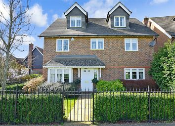 Thumbnail 5 bed detached house for sale in Diana Walk, Kings Hill, West Malling, Kent