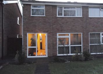 Thumbnail 3 bed semi-detached house for sale in Dunsville Walk, Leicester