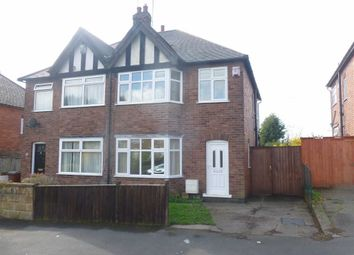 Thumbnail 3 bed semi-detached house to rent in Glamis Road, Basford, Nottingham
