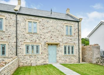 Long Street, Croscombe, Wells BA5. 4 bed end terrace house for sale