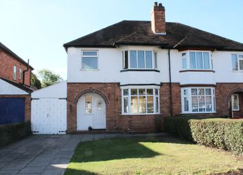 Thumbnail 3 bed semi-detached house to rent in Longmore Road, Shirley, Solihull, West Midlands