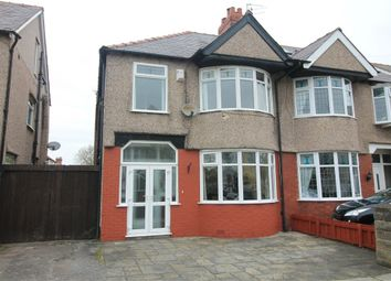 Thumbnail 3 bed semi-detached house for sale in Moorfield Road, Crosby, Merseyside