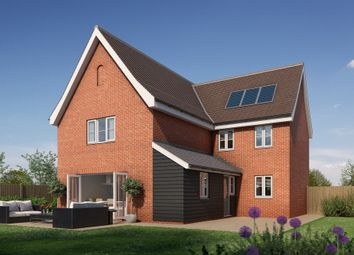 Thumbnail 4 bed detached house for sale in Newton, Sudbury, Suffolk