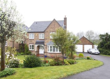 Thumbnail 4 bed detached house for sale in Chatfield Close, Stapenhill, Burton-On-Trent