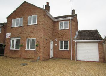 Thumbnail 4 bed detached house for sale in Mountbatten Avenue, Yaxley