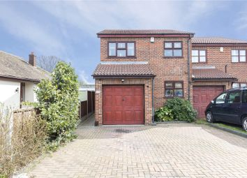 Thumbnail 3 bed semi-detached house to rent in Spencer Road, Rainham, Essex