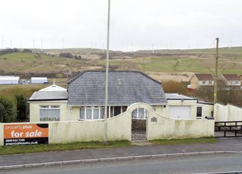 Thumbnail 3 bed detached bungalow for sale in Hendreforgan, Gilfach Goch -, Porth