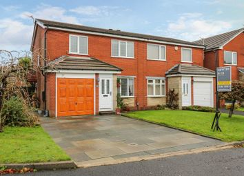 Thumbnail 3 bed semi-detached house for sale in Radley Close, Heaton, Bolton