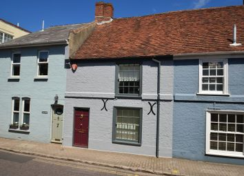 Thumbnail 2 bed terraced house for sale in Wellington Place, Captains Row, Lymington