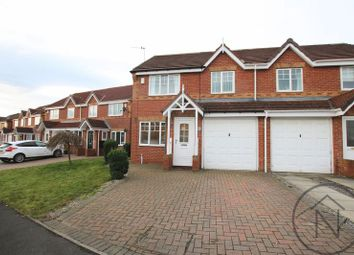 Thumbnail 3 bed semi-detached house to rent in Hamsterley Road, Newton Aycliffe