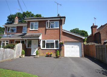 Thumbnail 3 bed semi-detached house for sale in Green Lane, Ellisfield, Basingstoke