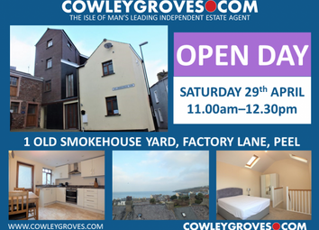 Thumbnail 3 bed end terrace house for sale in 1 Old Smokehouse Yard, Factory Lane, Peel