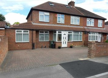 Thumbnail 5 bed semi-detached house for sale in Carlyon Road, Hayes, Middlesex
