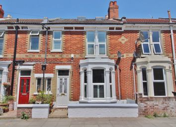 Thumbnail 4 bed terraced house for sale in Hunter Road, Southsea