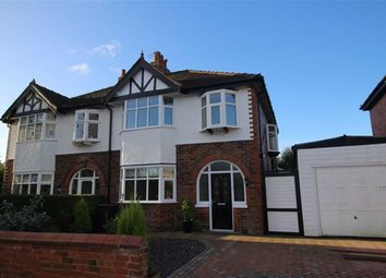 Thumbnail 3 bed semi-detached house for sale in Roseway, Ashton-On-Ribble, Preston
