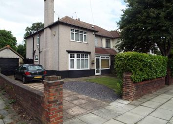 Thumbnail 4 bed semi-detached house for sale in Eardisley Road, Mossley Hill, Liverpool