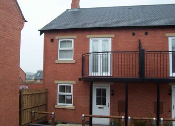 Thumbnail 1 bed semi-detached house to rent in St. Martins Close, Church Gresley, Swadlincote