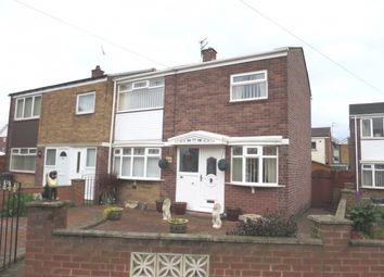Thumbnail 3 bed semi-detached house for sale in Stewart Crescent, South Shields