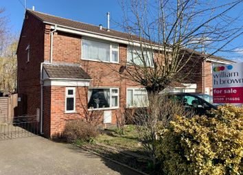 Thumbnail 2 bed semi-detached house for sale in Braddon Road, Loughborough
