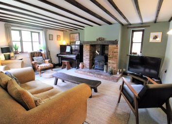 Thumbnail 4 bed cottage for sale in Wash Lane, Forncett St. Peter, Norwich