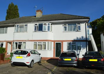 Thumbnail 2 bed maisonette to rent in Station Avenue, West Ewell, Epsom, Surrey