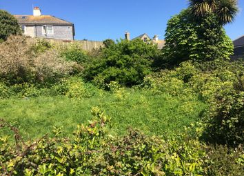 Thumbnail Land for sale in Trelawney Road, St. Ives, Cornwall