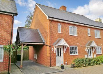 Thumbnail 2 bed semi-detached house for sale in Franklyn Close, Waltham Chase, Southampton