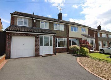 Thumbnail 4 bed semi-detached house for sale in Portreath Drive, Allestree, Derby
