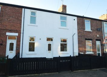 Thumbnail 3 bed terraced house for sale in North Street, Langwith, Mansfield