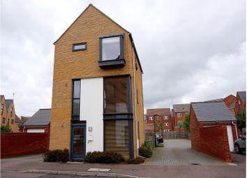 Thumbnail 4 bedroom detached house for sale in Loughborough Drive, Milton Keynes