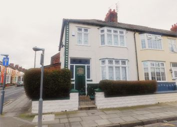 Thumbnail 3 bed terraced house to rent in Lynholme Road, Anfield, Liverpool