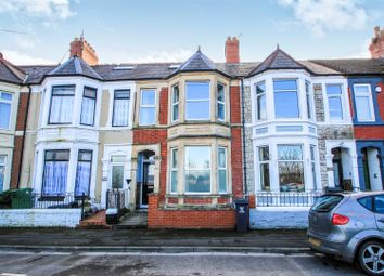 Thumbnail 3 bed terraced house for sale in Clarence Embankment, Cardiff