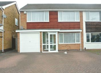 Thumbnail 3 bed semi-detached house for sale in Pear Tree Crescent, Shirley, Solihull