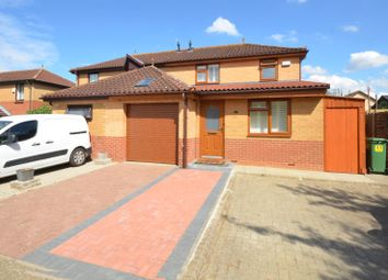 Thumbnail 3 bed semi-detached house for sale in Crowther Court, Milton Keynes