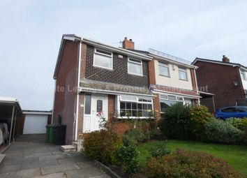 Thumbnail 3 bed semi-detached house for sale in Barnfield Close, Egerton, Bolton