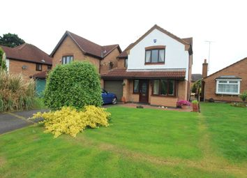 Thumbnail 4 bed detached house for sale in Chatsworth Close, Bolsover, Chesterfield
