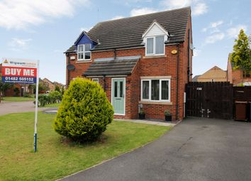Thumbnail 2 bedroom semi-detached house for sale in Ferry Meadows Park, Kingswood, Hull