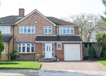 Thumbnail 4 bed semi-detached house for sale in Langdon Shaw, Sidcup