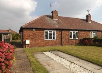 Thumbnail 2 bed semi-detached bungalow to rent in Wong Lane, Tickhill, Doncaster